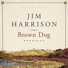 Brown Dog: Novellas (       UNABRIDGED) by Jim Harrison Narrated by Bronson Pinchot, Ray Porter, Lloyd James