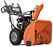 Hot Sale Husqvarna 924HV 24-Inch 208cc SnowKing Gas Powered Two Stage Snow Thrower With Electric Start