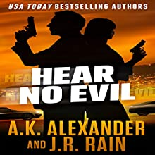 Hear No Evil: The PSI Trilogy Book 1 (       UNABRIDGED) by J.R. Rain, A.K. Alexander Narrated by Emma Lysy
