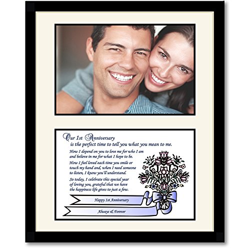 St anniversary gift for husband wife boyfriend or
