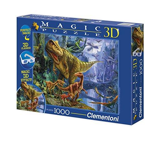 clementoni-puzzle-de-1000-piezas-magic-effect-3d-diseno-dinosaur-valley-392612