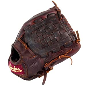 Shoeless Joe 12 inch Basket Web Baseball Glove Right Handed Throw