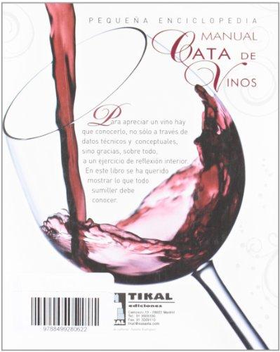 Manual cata de vinos (Pequeña Enciclopedia)