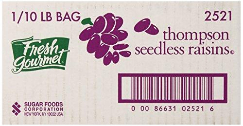 Fresh Gourmet Thompson Seedless Raisins, 10 Pound (Bulk Dehydrated Fruit compare prices)