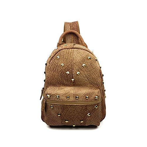 benningco-ladies-casual-backpack-head-layer-leather-rivet-bag-school-bagpackkhaki