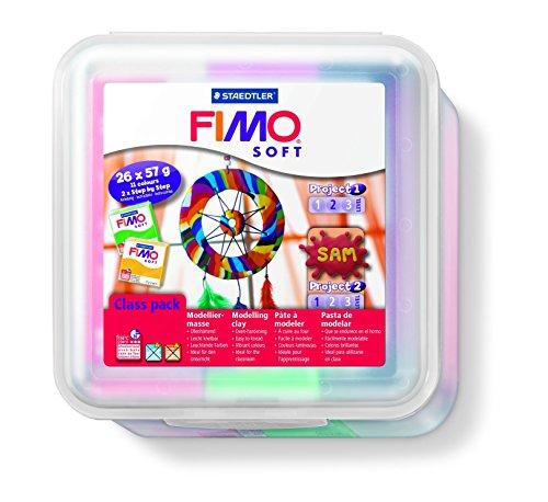 Staedtler FIMO pasta molle Confezione da 26 argilla 57 g di corrispondenza PDF