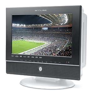 Muse M-110TVD TV LCD portable avec lecteur DVD 10