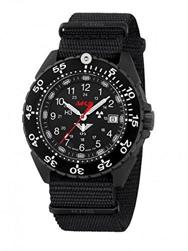 KHS Tactical orologio uomo Enforcer Black Titan KHS.ENFBT.NB