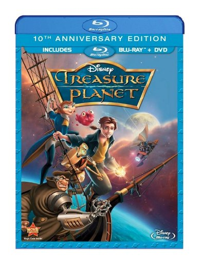 Cover art for  Treasure Planet (10th Anniversary Edition) (Blu-ray + DVD)