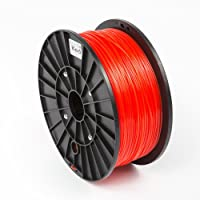 1KG (2.2LBS), 1.75mm, PLA 3D Printer Filament, RED Color from ORD Solutions