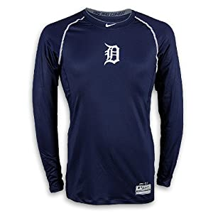 Buy Detroit Tigers 2014 AC Pro-Combat Hypercool Long Sleeve Top by Nike by Nike
