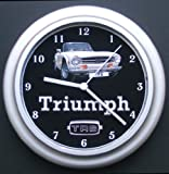 Triumph TR6 Classic Car Wall Clock