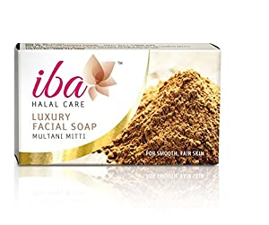 Iba Halal Care Luxury Facial Soap Multani Mitti, 25g (Pack of 2)