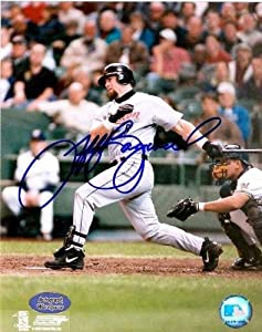 Jeff Bagwell autographed 8x10 Photo (Houston Astros 94 NL MVP, 91 NL ROY, 4x All...
