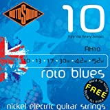 Rotosound Nickel Light Top/Heavy Bottom Gauge Electric Guitar Strings (10 13 17 30 42 52)