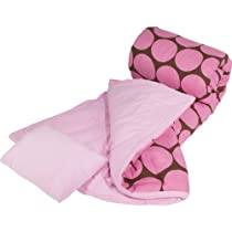 Wildkin Big Dots - Pink Sleeping Bag