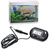 HDE LCD Digital Fish Tank Aquarium Thermometer