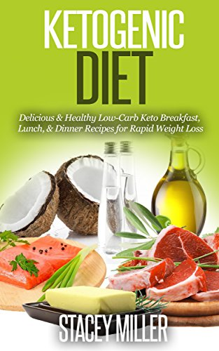 Ketogenic Diet: Delicious & Healthy Low Carb  Keto Breakfast, Lunch & Dinner Recipes for Rapid Weight Loss