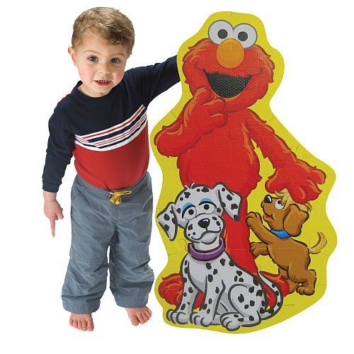 Cheap Fun Sesame Street Cookie Monster BIG Like Me Foam Floor Puzzle (B0042PALT4)