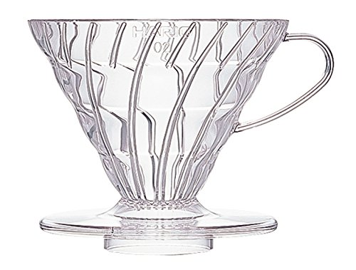 Hario VD-02T V60 02 Coffee Dripper, Clear (Cone Tea Kettle compare prices)