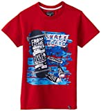 Nauti Nati Boy's T-Shirt (NAW14-552_Red_6y)