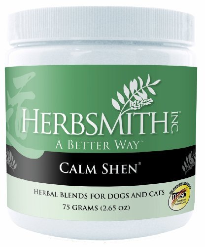Herbsmith Calm Shen Herbal Supplement For Dogs And Cats, 75Gm Powder