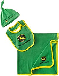 John Deere Baby-Boys Newborn Trademark Layette Set, Green/Yellow, One Size