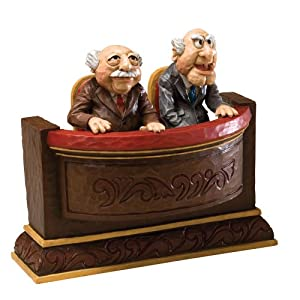 Disney Traditions designed by Jim Shore for Enesco Waldorf & Statler Muppet Show Figurine 5.25 IN