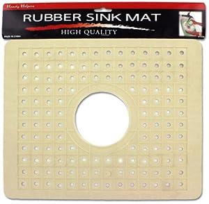 Amazon Com 12 Quot X10 Quot Rubber Sink Mat With Center Drain Hole