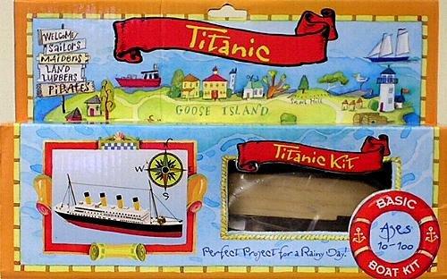 save backyard and beyond basic boats titanic kit 740542805762
