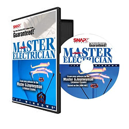 Snapz Master Electrician Exam Prep Study Program for 2008 NEC