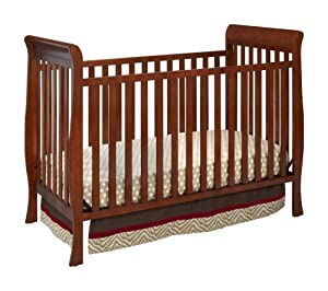 Delta Children's Products Winter Park 3-in-1 Convertible Crib, Spiced Cinnamon (Discontinued by Manufacturer)