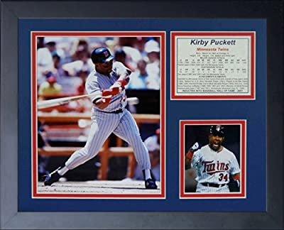 "Legends Never Die ""Kirby Puckett"" Framed Photo Collage, 11 x 14-Inch"