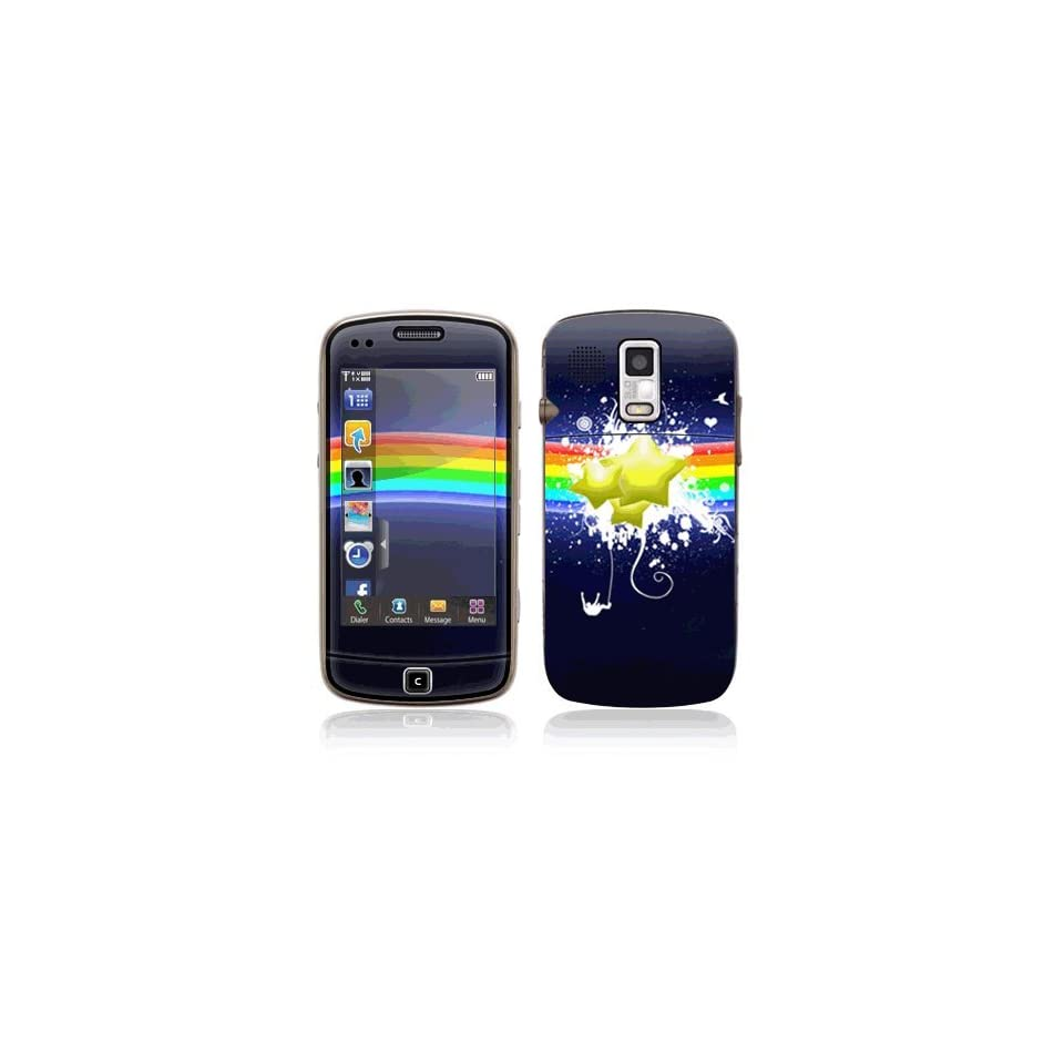 Rainbow Stars Decorative Skin Cover Decal Sticker for Samsung Rogue SCH U960 Cell Phone