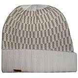 Calvin Klein Womens Winter Knit Cuff Hat Cream/Gold