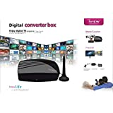 iView 3200STB-A HDTV DTV Digital Converter Box and Antenna with Media Player and Recording PVR Function