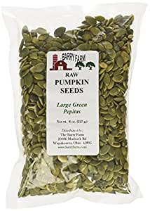Pumpkin Seeds - Pepitas, 8 oz.