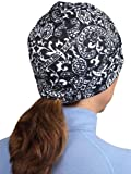 TrailHeads Twister Beanie - black & white print