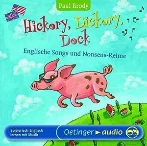 hickory dickory dock englische songs und nonsens reime spielerisch englisch lernen mit. Black Bedroom Furniture Sets. Home Design Ideas