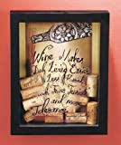 Wine Cork Holder Shadow Box - Wine Makes Daily Living Easier ...
