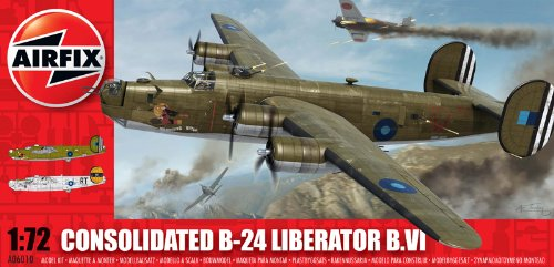 Airfix A06010 Consolidated B-24 Liberator Model Building Kit, 1:72 Scale