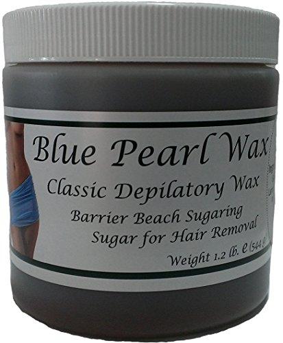 Blue Pearl Wax Barrier Beach Sugaring Sugar for Hair Removal Choose Type (Firm)