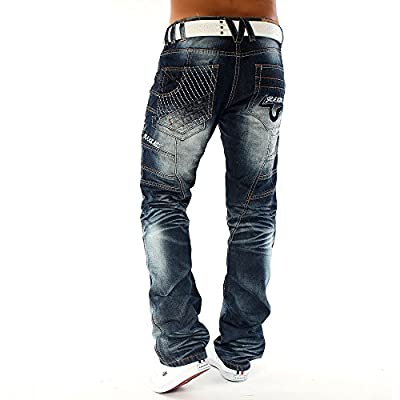 Men's Jeans Colored Galaxy ID1097 Regular Fit (Straight Leg)
