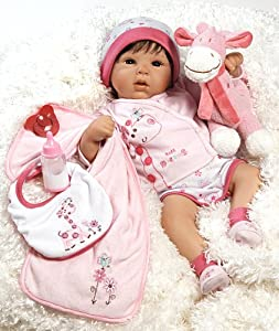 Realistic and Lifelike Baby Doll, Tall Dreams Ensemble, 19-inch, Weighted Body by Michelle Fagan