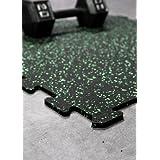 IncStores Energy Rubber Gym Tile Flooring Equipment Mats (36 sqft, 9 tiles) ~ Incstores