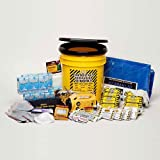 Disaster Preparedness Emergency Survival Kit, Fire, Flood, Earthquake, Hurricane, Tornado. Deluxe Office Kit - 5 Person