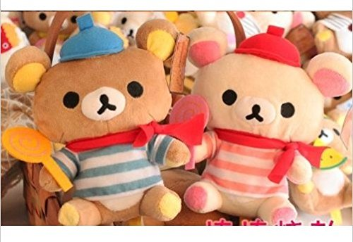 San-x Rilakkuma Plush Toy Candy Stuffed Soft Toy- 2 of Set
