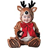 InCharacter Costumes Baby s Reindeer Rascal Costume, Brown Red White, Large