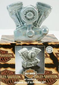 Harley Davidson Salt & Pepper Shakers by Harley-Davidson