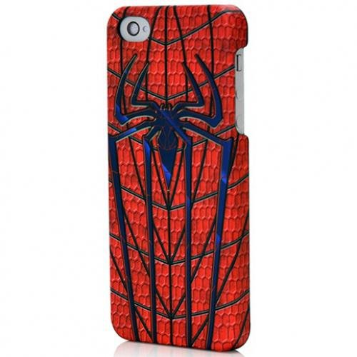 Great Price Performance Designed Products IP1914 Marvel Legendary Armor Case for iPhone 5 & 5s - Spiderman - Retail Packaging - Multicolor